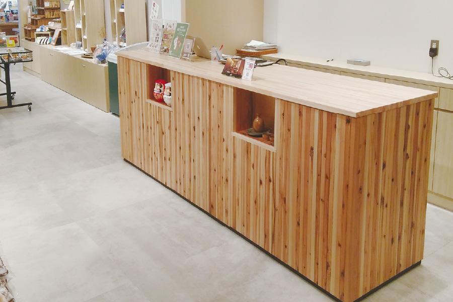 木製カウンター(DLT)
