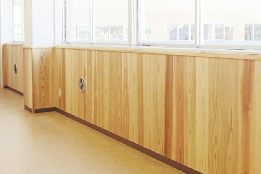 壁の木質化