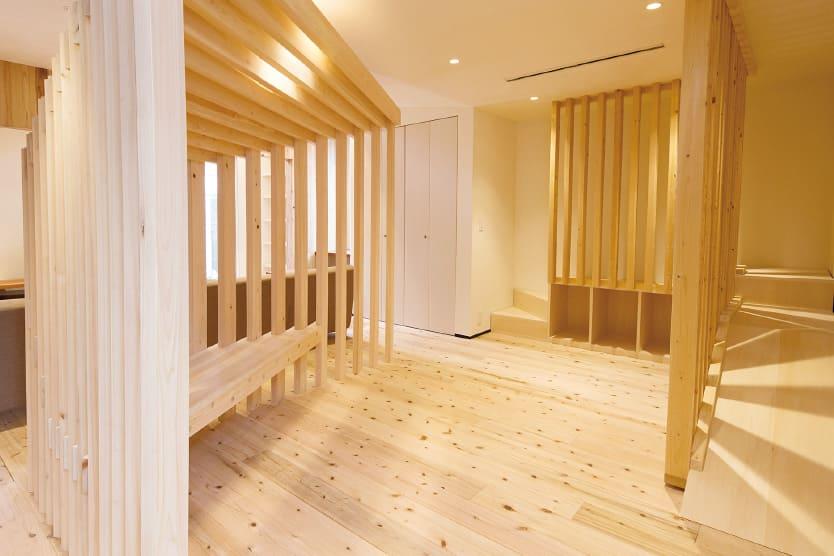 住宅の木育スペース